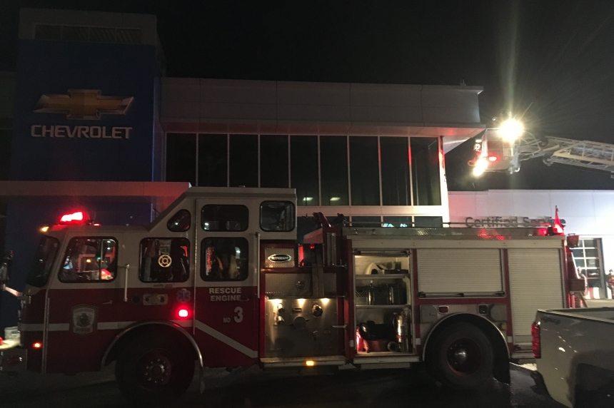 Fire leaves more than $1M in damage at Sherwood Chevrolet