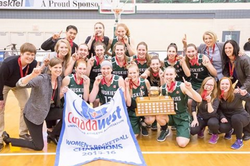 Huskie women's basketball team claims  4th Canada West title