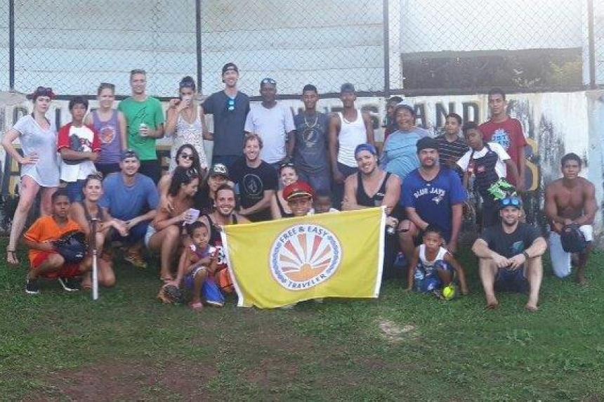 Sask-Alta Baseball league brings equipment to children in Nicaragua