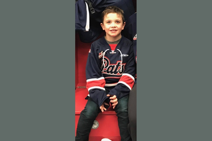 Pats replace boys lucky jersey lost during playoff game