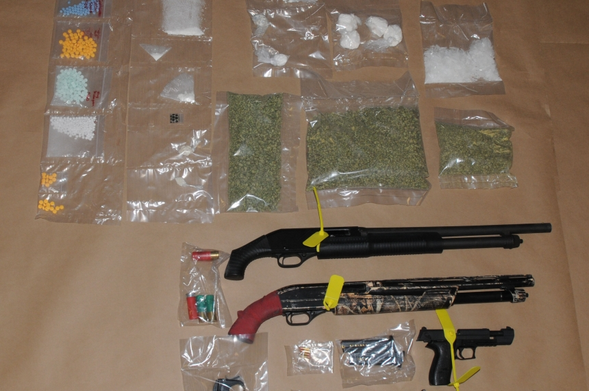 Massive drug bust lands 3 people with more than 100 charges