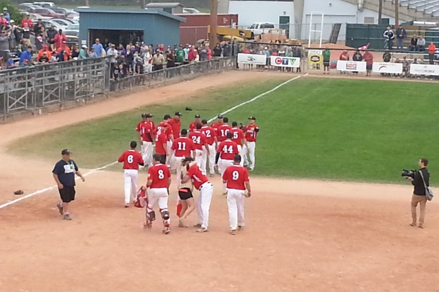 VIDEO: Canada golden in Saskatoon at world softball championships