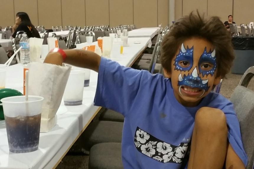 Free carnival entertains Saskatoon evacuees