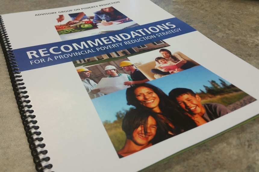 Panel delivers anti-poverty report to Sask. government
