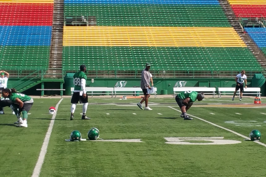 Riders begin life under interim head coach Bob Dyce