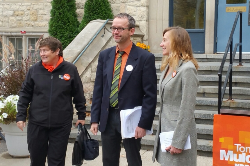 Saskatoon NDP candidates announce post-secondary plan