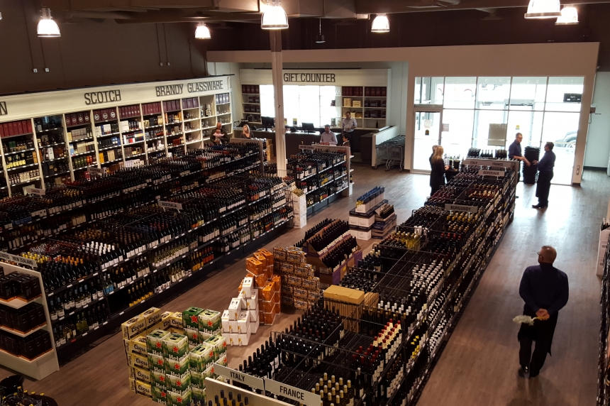 Regina's newest private liquor store celebrates its grand opening