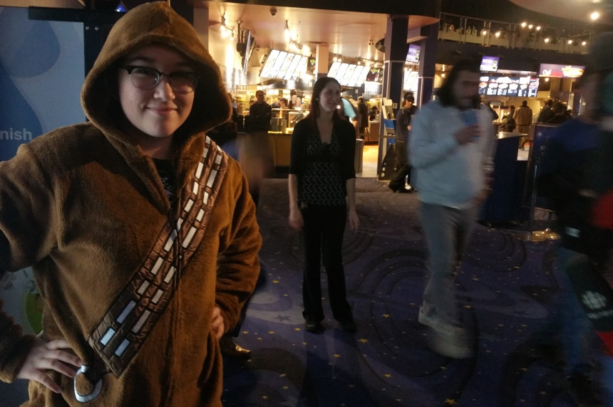 New Star Wars film a hit in Saskatoon