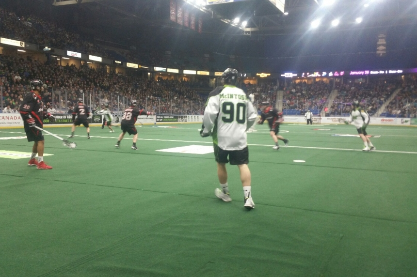 Sask. Rush fall to Vancouver Stealth 13-11 in Saskatoon for packed home opener