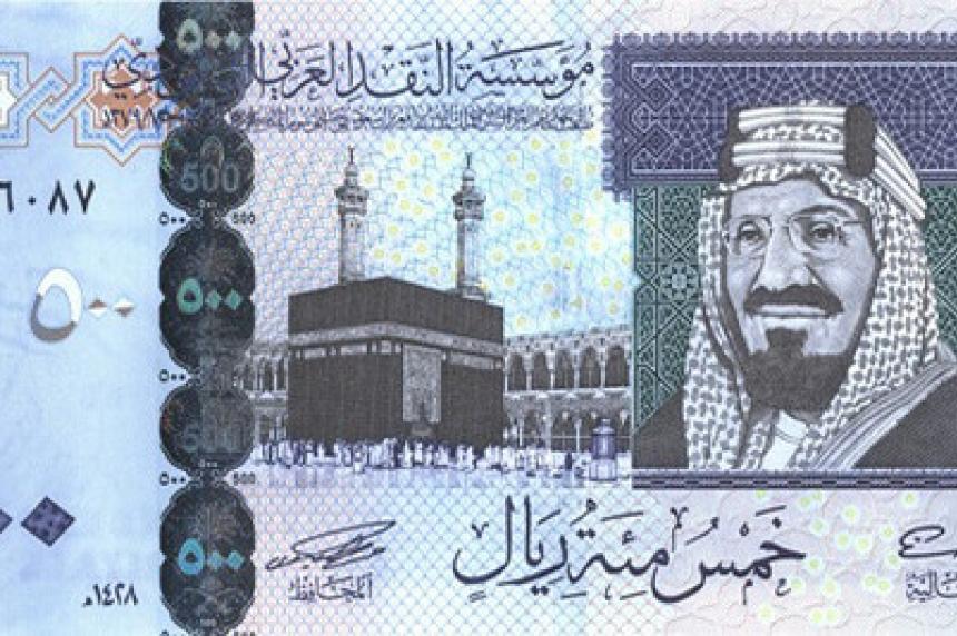 Saskatoon police report theft of Saudi currency