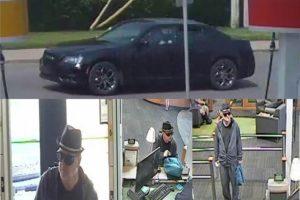 Bank robbery surveillance
