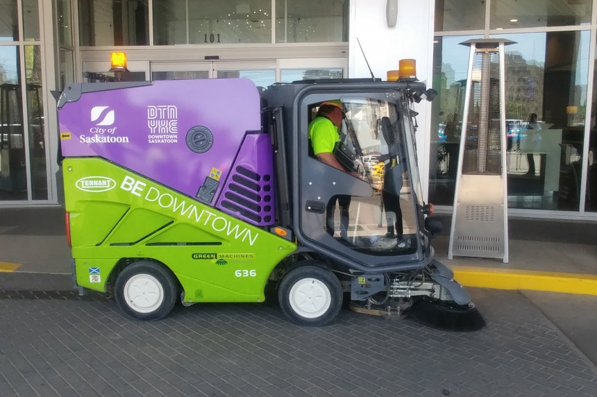 Downtown BID gets new sweeper to save city money, time