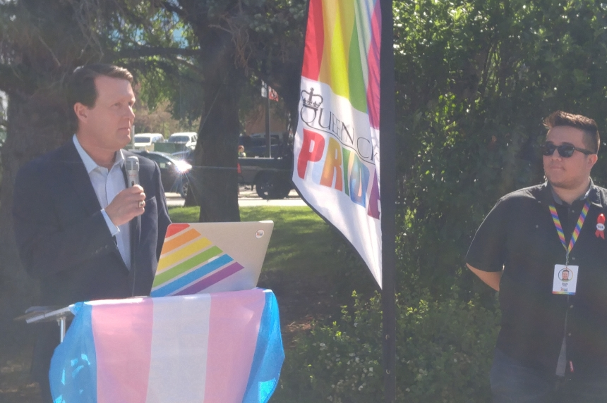 'Highest honour:' pride flag flies outside Regina city hall