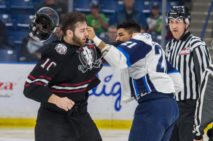 Blades hold on for big win over Red Deer