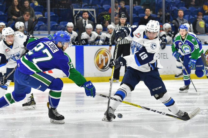 Blades open home and home with loss to Swift Current