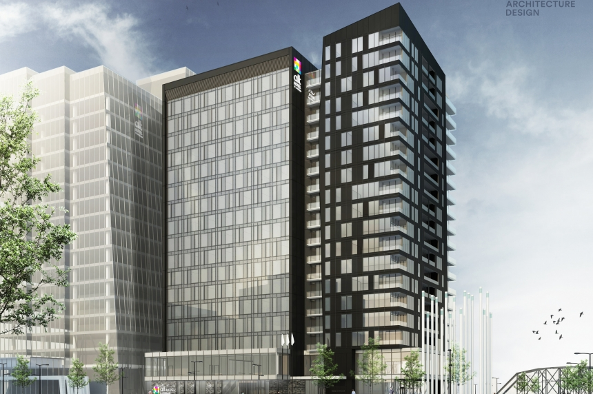 Developer announces plans for River Landing hotel
