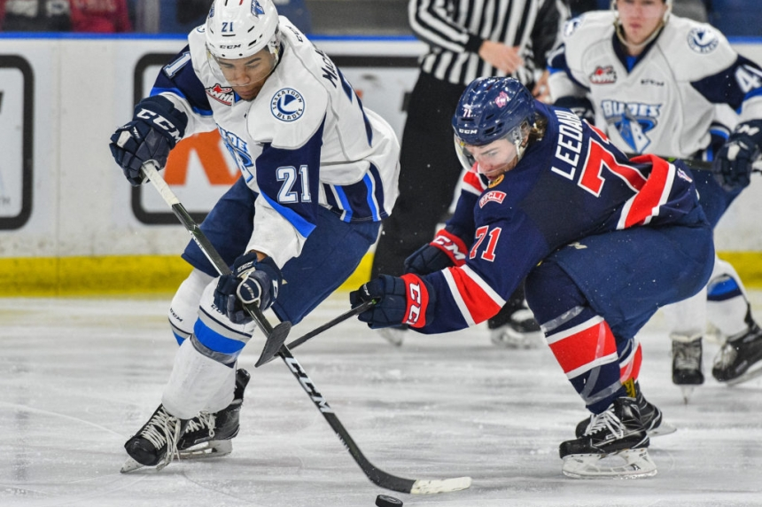 Pats nip Blades for second straight meeting