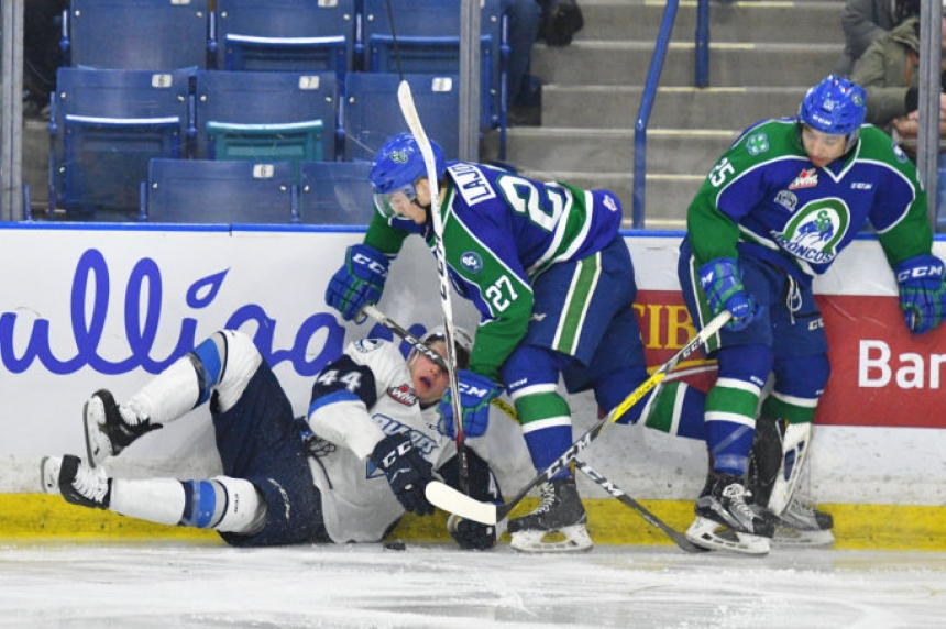Blades go down in Swift Current, drop out of playoff spot