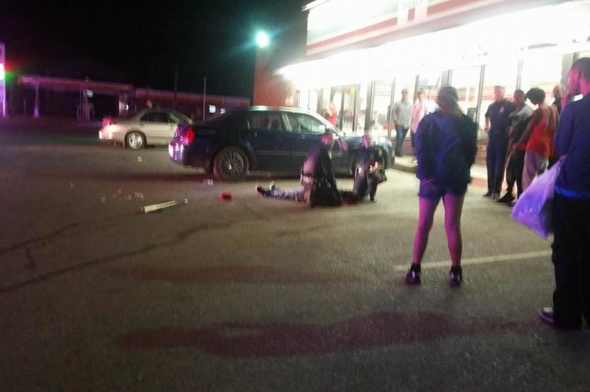 Violent fight outside 7-11 sends man to Saskatoon hospital