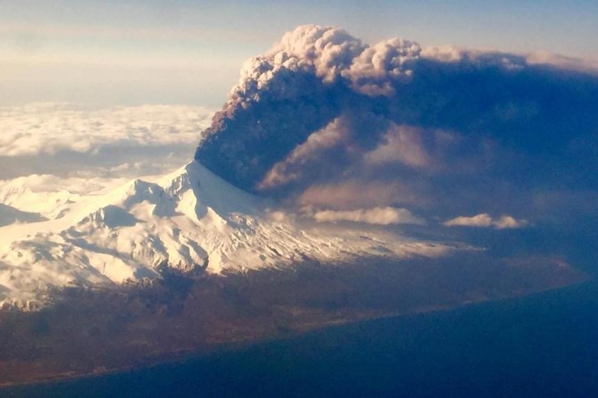 Volcanic ash from Alaska cancels some flights out of Regina