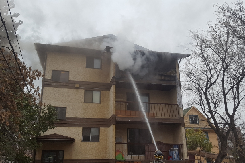 Fire causes $200k in damage at Saskatoon apartment