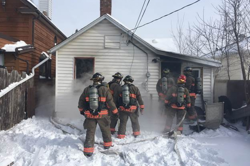 Electrical fire causes extensive damage to Avenue J home