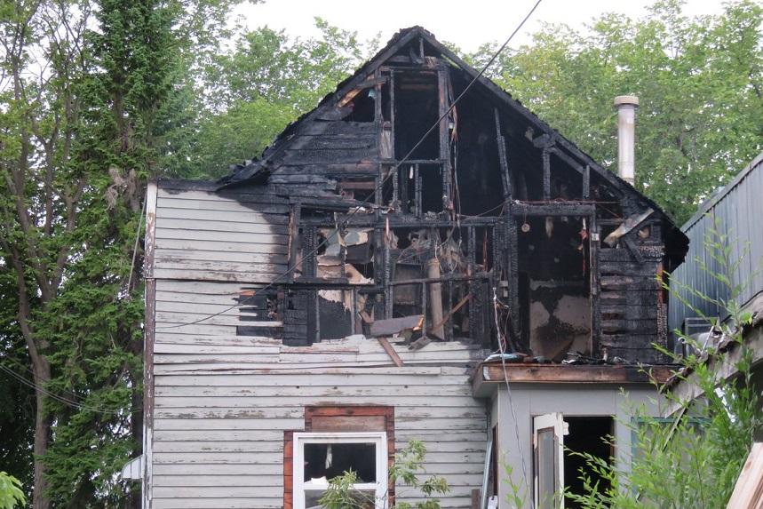 Early hours fire guts Avenue K South home