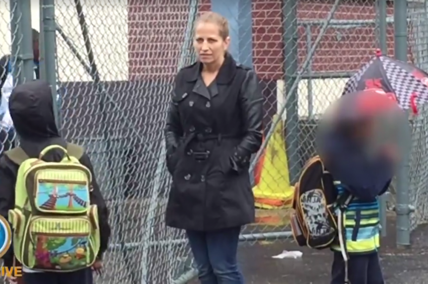 Karla Homolka volunteering at kids' school