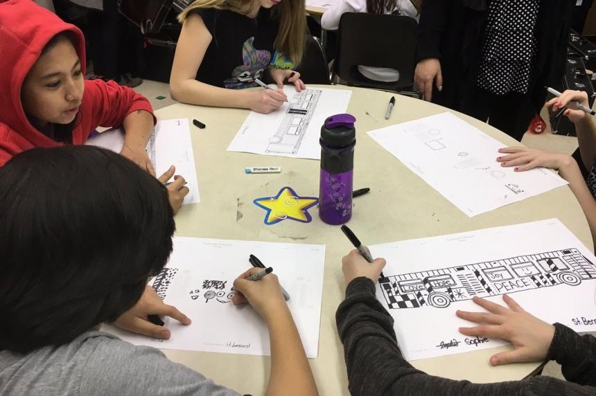 Saskatoon kids design bus wraps for Children's Discovery Museum