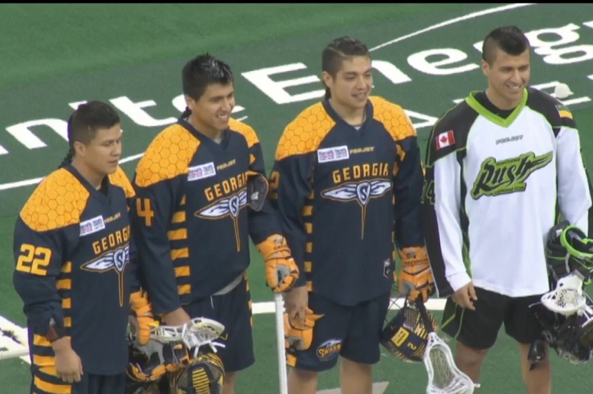 Swarm hand Rush a loss on opening night