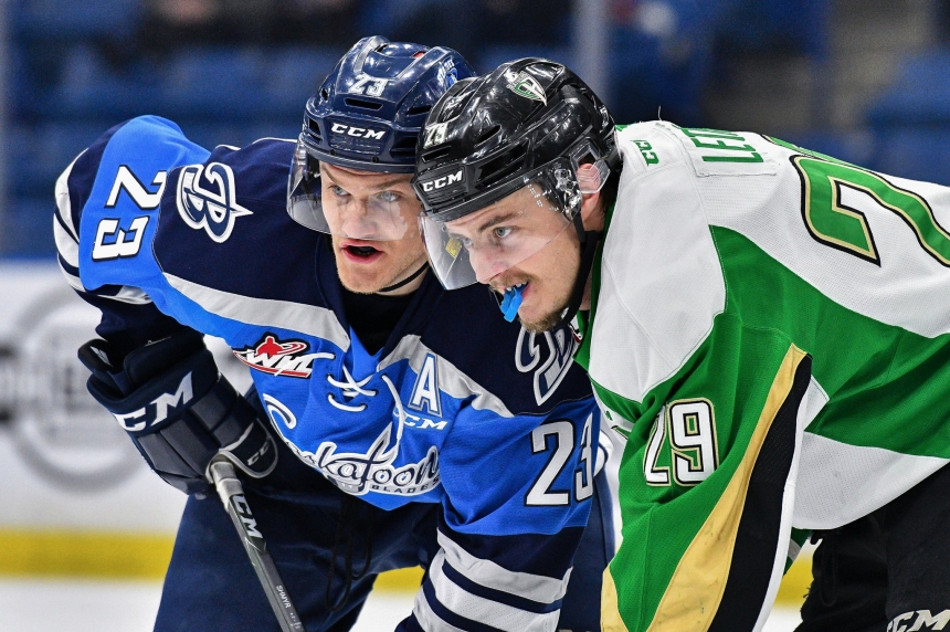 Blades open key weekend with a win