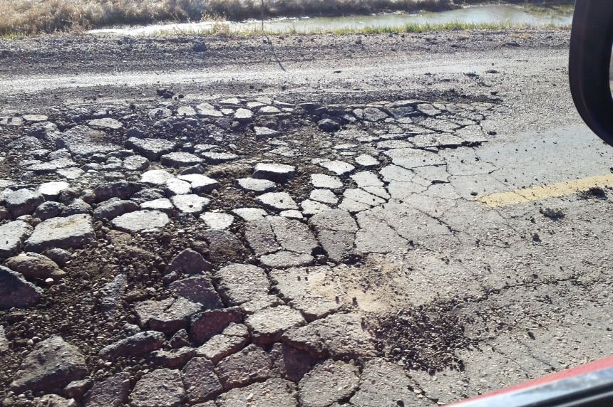 Highway 354 wins title of worst road in Sask. again