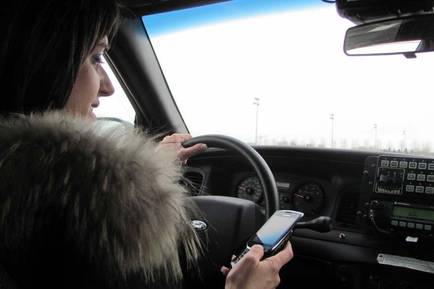 Cellphone tickets up 177% in Regina