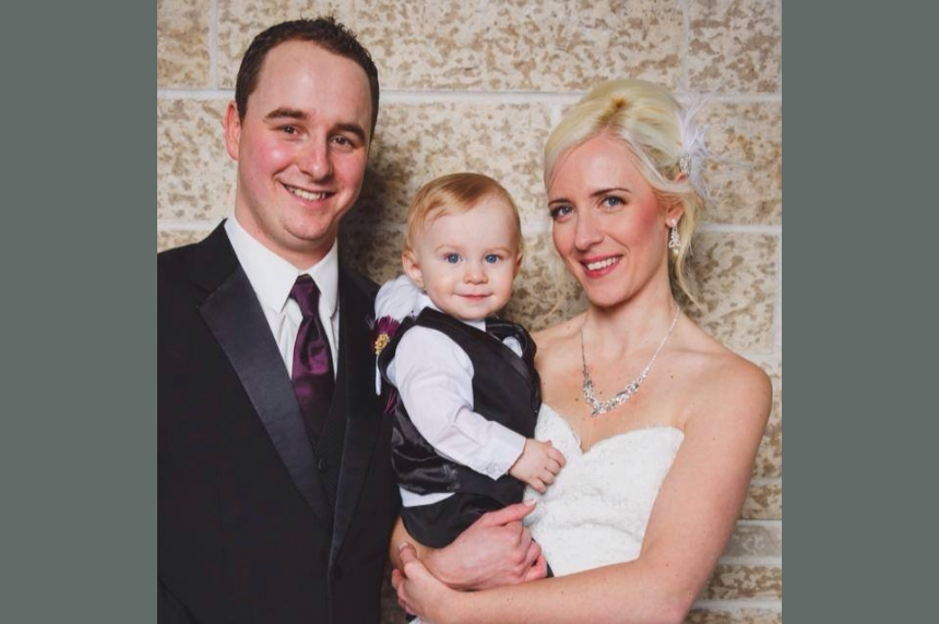 GoFundMe campaign created for husband, 2-year-old son of woman killed near Pense