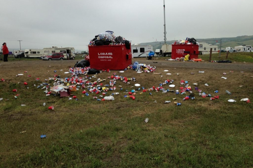 Craven Country Jamboree is over and clean up begins