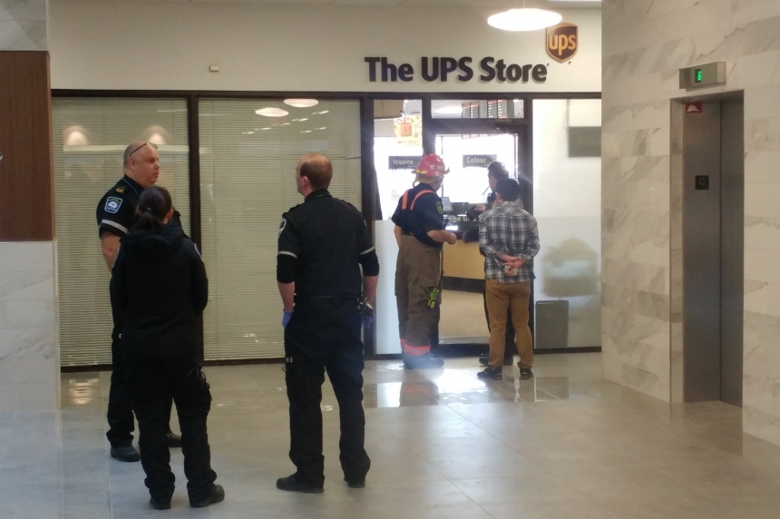 Suspicious package shuts down UPS Store in downtown Saskatoon