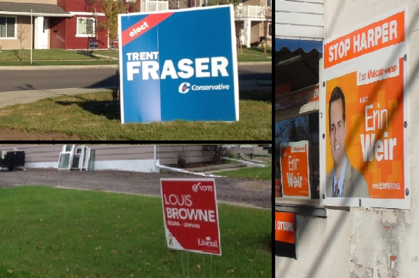 Federal candidates getting in a last push before election day