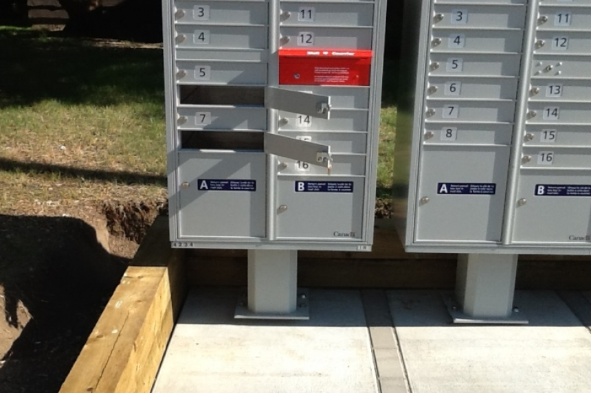 New Moose Jaw community mailbox key opens more than 1