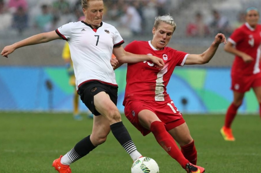 Canada's bid for shot at Olympic soccer gold ends with loss to Germany