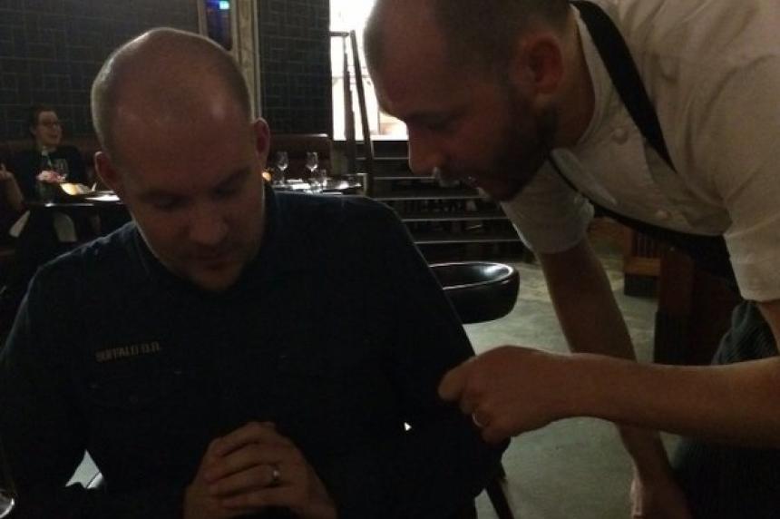 English chef considers Saskatoon Berry as permanent menu item