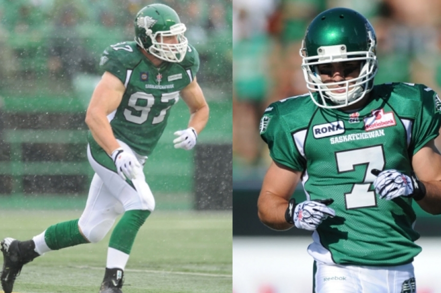 Shocker in Rider Nation: Roughriders release Weston Dressler and John Chick
