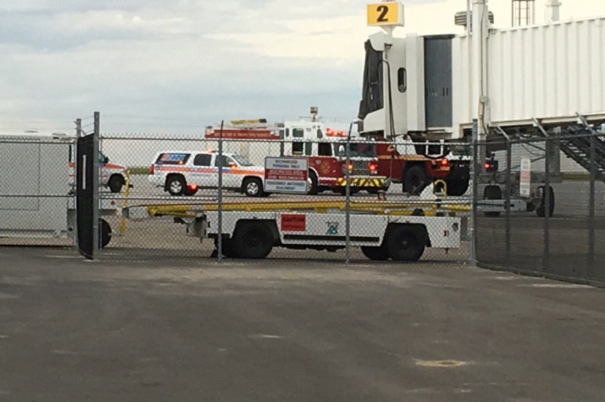 Smoke causes WestJet plane to make emergency landing at Regina airport