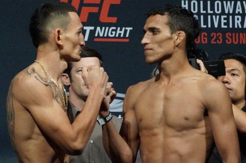 UFC Fight Night Saskatoon Weigh-ins