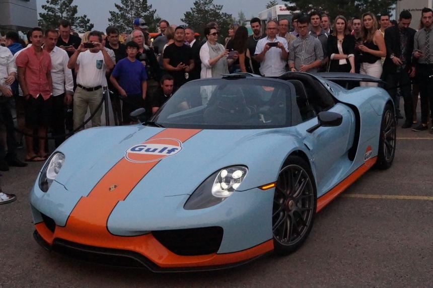 Porsche Sask. unveils custom 918 Spyders