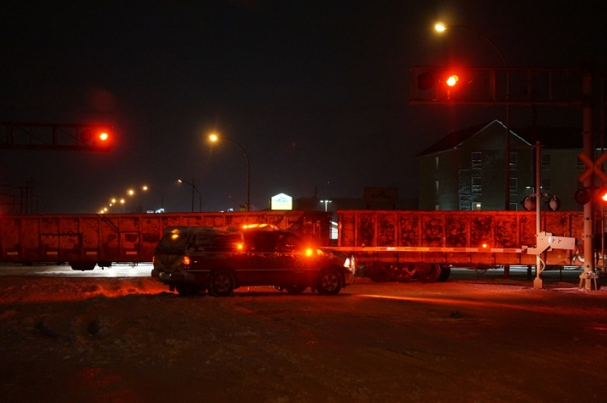 Update: Trains collide at low speed, cause derailment in Estevan