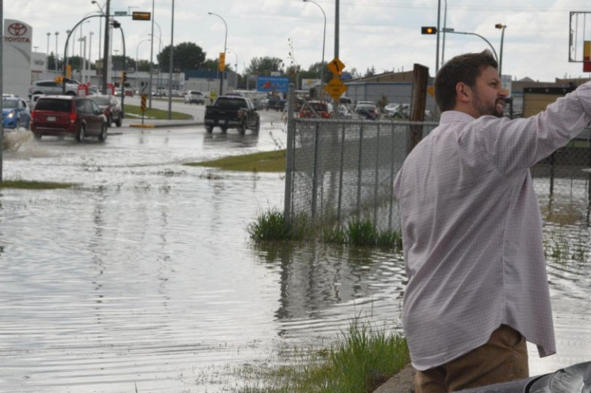 Flooding in Prince Albert after Friday downpour