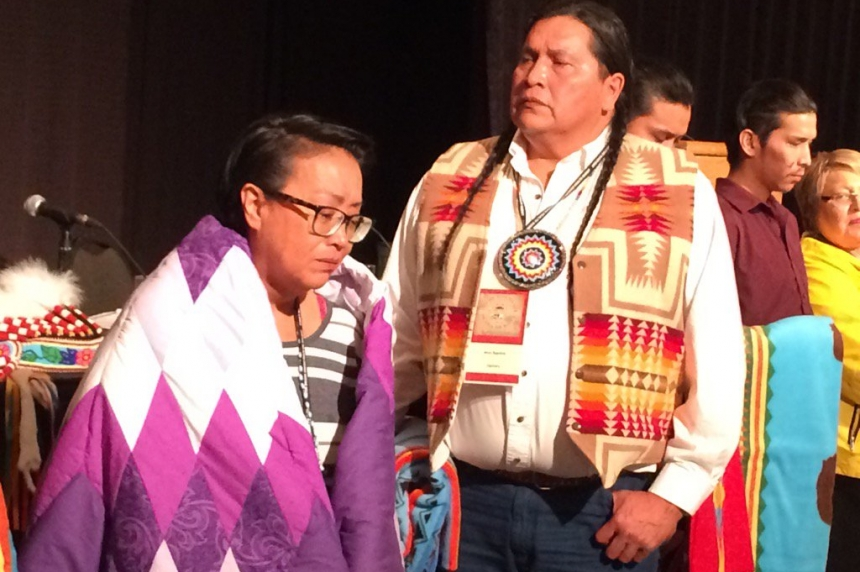 'I forgive:' Boushie family honoured at Sask. conference