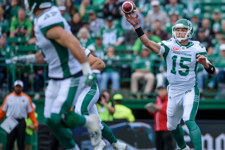 Roughriders quarterback play disappoints in pre-season debut