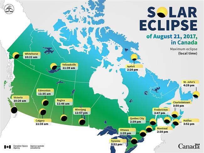 WATCH: Solar eclipse occurs in North America