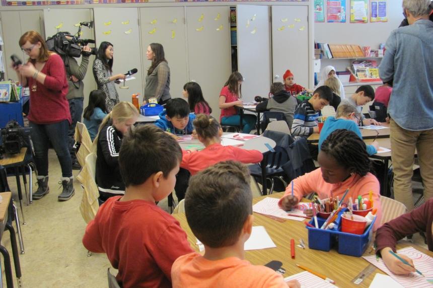 Syrian refugees putting strain on Regina Public Schools' English as an Additional Language program